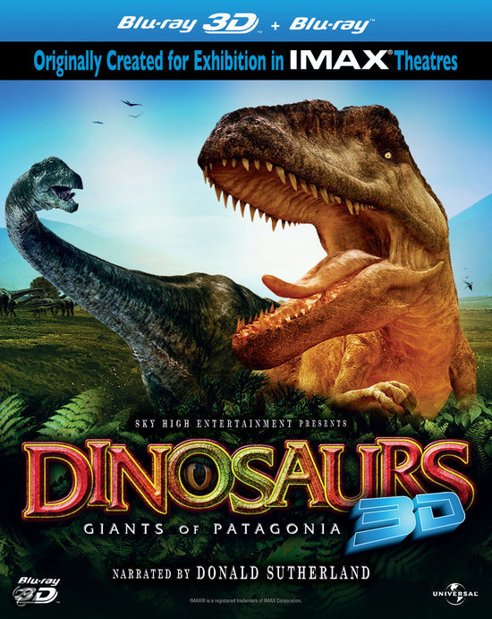 Dinosaurs: Giants Of Patagonia (3D+2D Blu-ray) (IMAX)