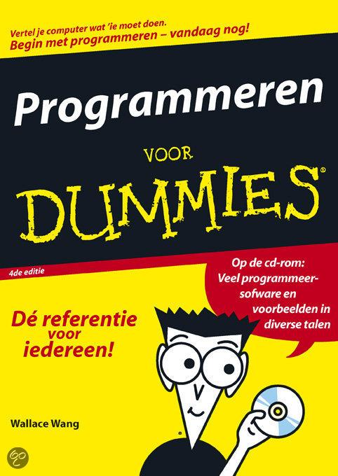 Programmeren voor Dummies + CD-rom