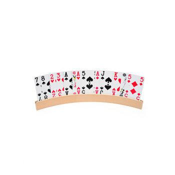 Speelkaartenhouder hout