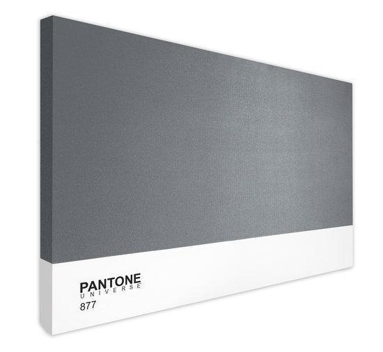 Pantone art schilderij limited 150 x 100 x 4 cm grijs - Kleur schilderij gang ...