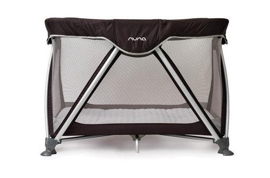 Nuna Sena - Campingbed - Zwart