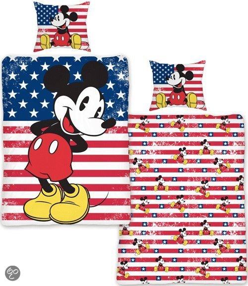 bol com   Mickey Mouse dekbedovertrek   Multi   1 persoons (140×200 cm + 1 sloop)