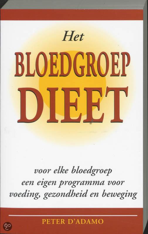 Het bloedgroep-dieet