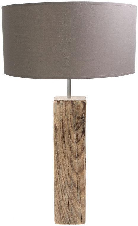 Mosso Tafellamp Stockholm Tafel Lamp L - Taupe - Hout