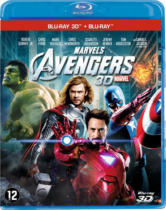The Avengers (2012) (3D Blu-ray)