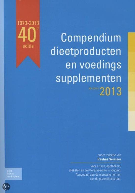 Compendium dieetproducten en voedingssupplementen / 2013