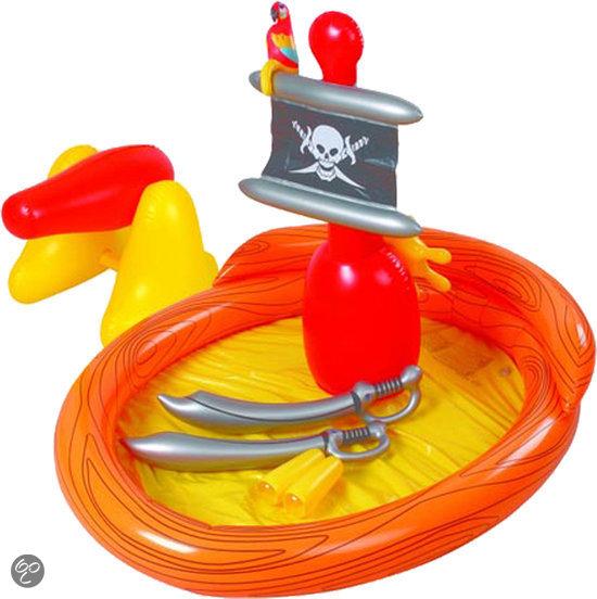 Summertime Opblaasbaar Zwembad - 187x36 cm - Piraten