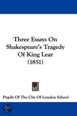 Related AS and A Level King Lear essays