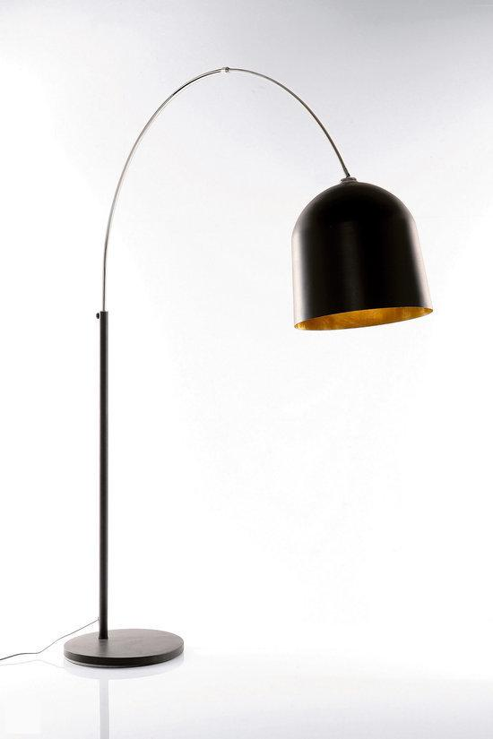 kare design vloerlamp vooglamp vaso black gold zwart goud. Black Bedroom Furniture Sets. Home Design Ideas