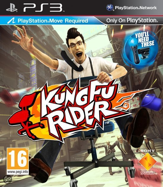 Kung Fu Rider (PlayStation Move)