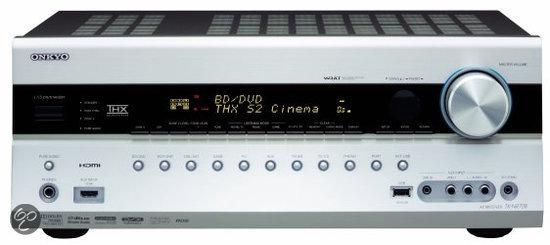 Onkyo TX-NR708 - 7.1 AV-receiver - Zilver