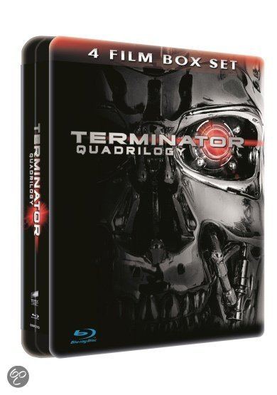 Cover van de film 'Terminator Quadrilogy'