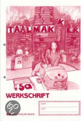Taalmakker 5a - werkschrift