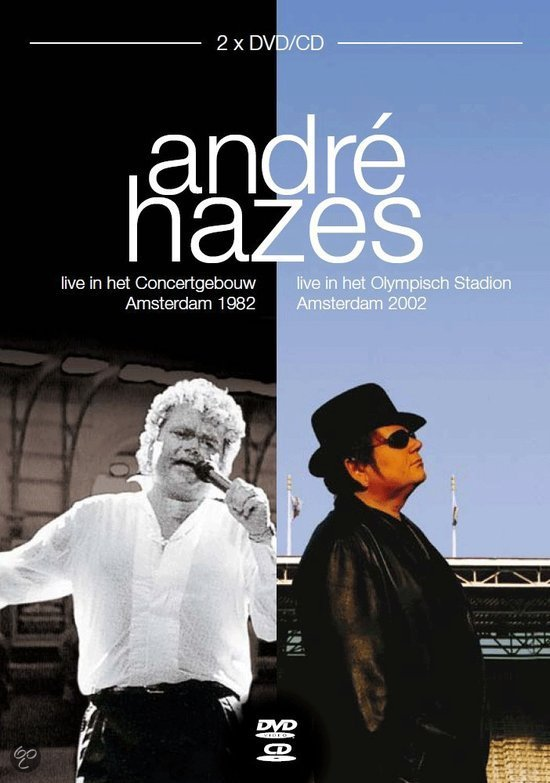 Andre Hazes - Live Box 1982 & 2002 (2cd + 2dvd)