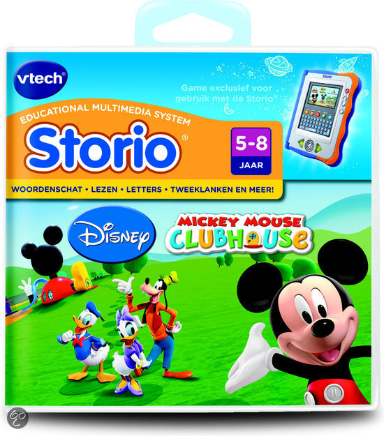 VTech Storio Game - Mickey Mouse Clubhouse