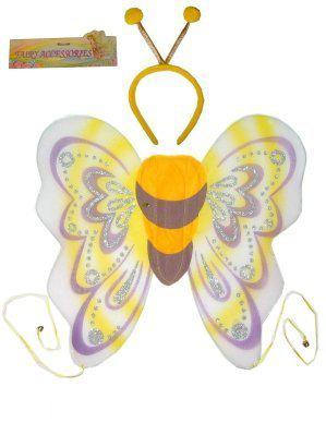Vlindervleugels met diadeem