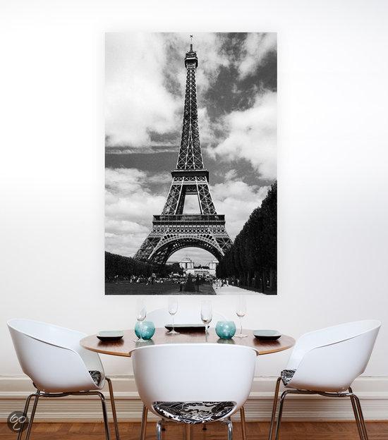 xxl poster de eiffeltoren wonen. Black Bedroom Furniture Sets. Home Design Ideas