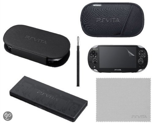 Sony PlayStation Starter Kit Zwart PS Vita