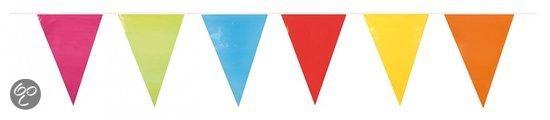Partypartners Slinger gekleurde vlaggen 10 meter in Herentals
