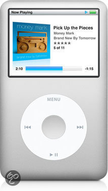 Apple iPod classic 160 GB - Zilver