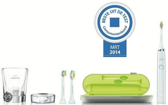 Philips Sonicare Diamond Clean HX9332/04 Elektrische Tandenborstel - Wit