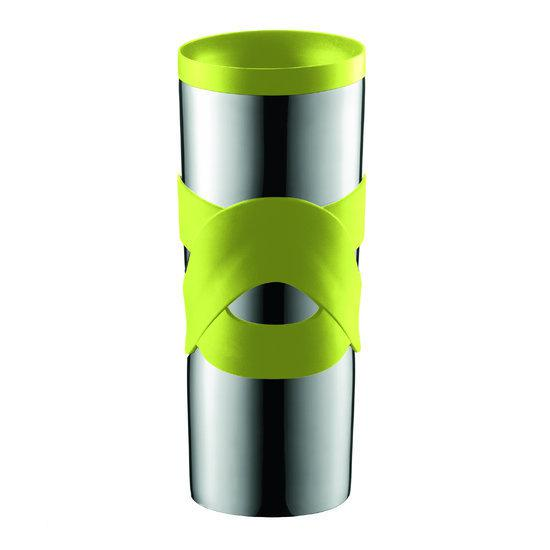 Bodum Travel Mug Thermosbeker - 0.45 l - RVS - Limoen groen in Overschot