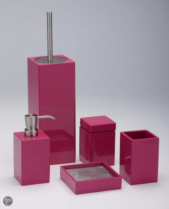 roze badkamer accessoires ~ home design ideeën en meubilair, Badkamer