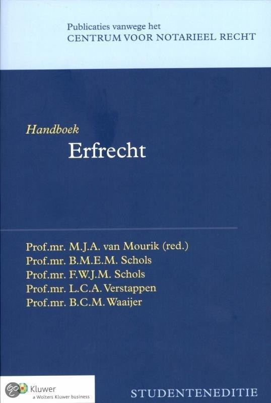 Handboek erfrecht