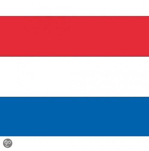 Vlag Nederland stickers in \'t Schoor / Skoar