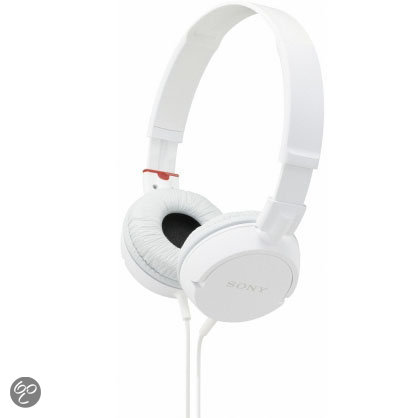 Sony MDR-ZX100 - Koptelefoon - Wit