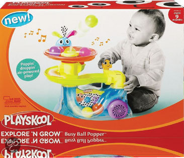 Playskool Busy Baby Ballenbaan