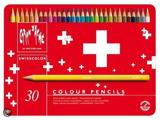 Kleurpotloden Caran D�che Swisscolor in Kampen