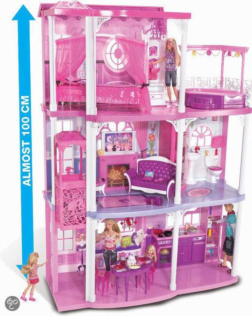 Zelfgemaakte Speelgoed Keuken : bol.com Barbie Roze Droomhuis,Mattel Speelgoed