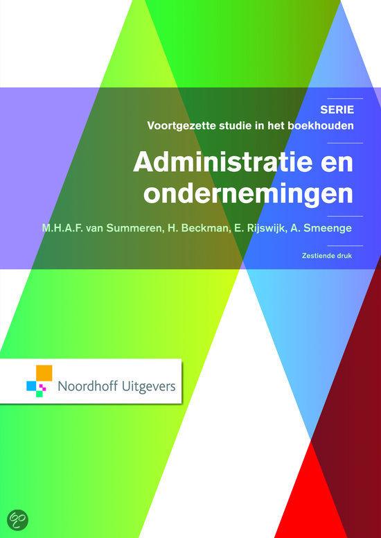 Administratie en ondernemingen