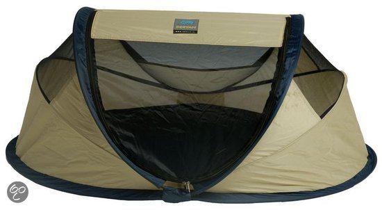 Deryan Baby Luxe Campingbedje Khaki.Deryan Baby Luxe Wegive