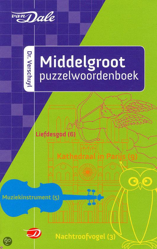 Middelgroot puzzelwoordenboek