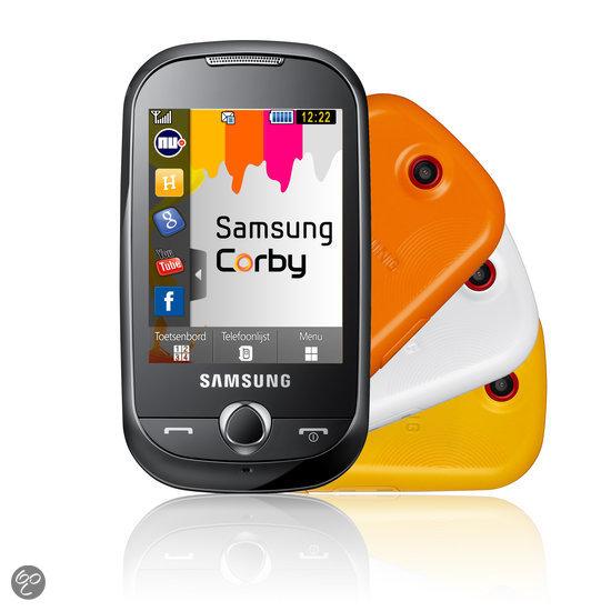 Vodafone prepaidpakket met Samsung Corby (S3650) - Zwart
