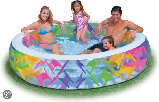 Intex zwembad pinwheel 229x56 cm intex for Intex zwembad baby