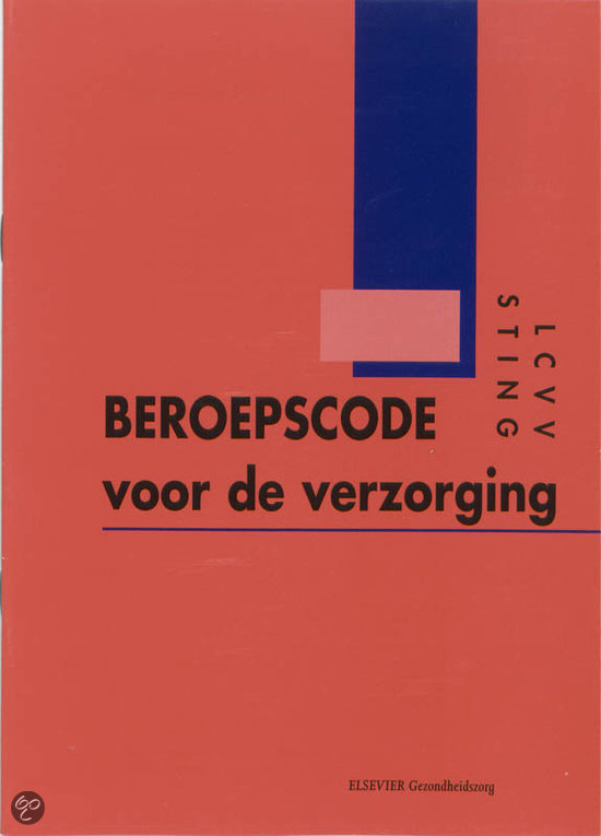 Beroepscode Verzorging