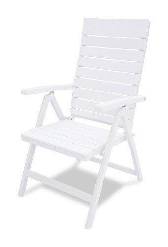 D 39 acore tuinstoel standenstoel wit for Tuinstoel wit