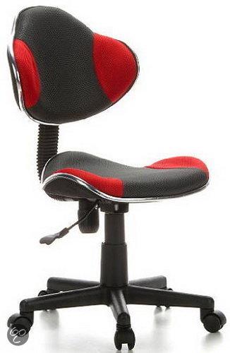 hjh office City 80 - Bureaustoel - Directiestoel - Zwart / oranje in Fouleng