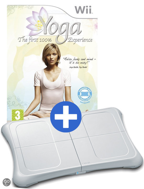 Yoga: The First 100% Experience + Ricatech Balance Board