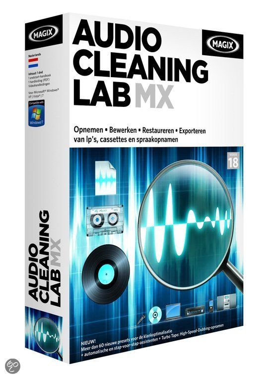 Magix Audio Cleaning Lab MX - Nederlands