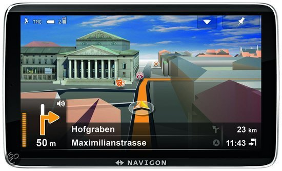 Navigon 92 Premium - Europa - 44 landen