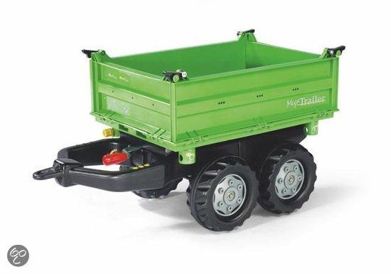 Rolly Toys Rolly MegaTrailer Deutz - Groen