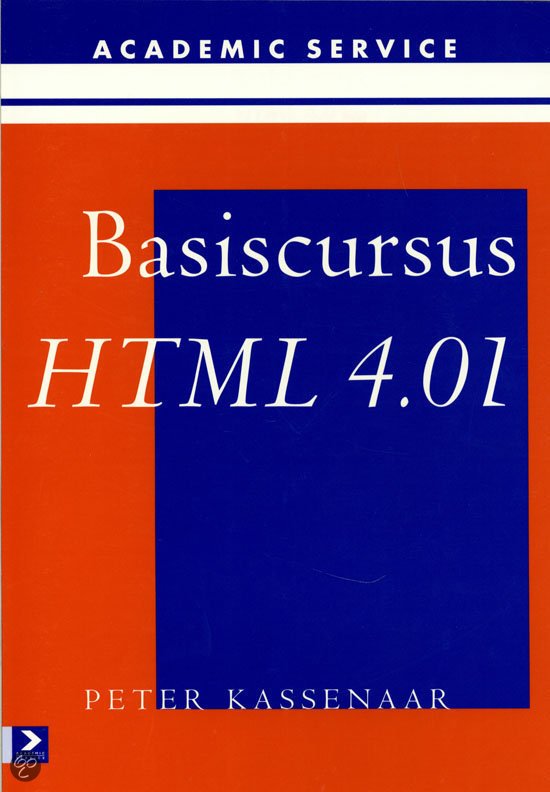 Basiscursus HTML 4.01