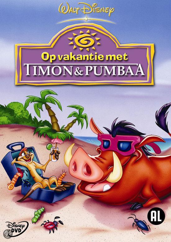 Timon pumbaa op vakantie met cartoon dvd for Timon begeleid wonen