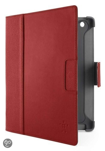 Belkin Cinema Folio Etui voor Apple iPad 3 - Rood