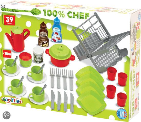 Keuken Accessoires Speelgoed : bol.com Ecoiffier 100% CHEF speelgoed keuken accessoires Speelgoed