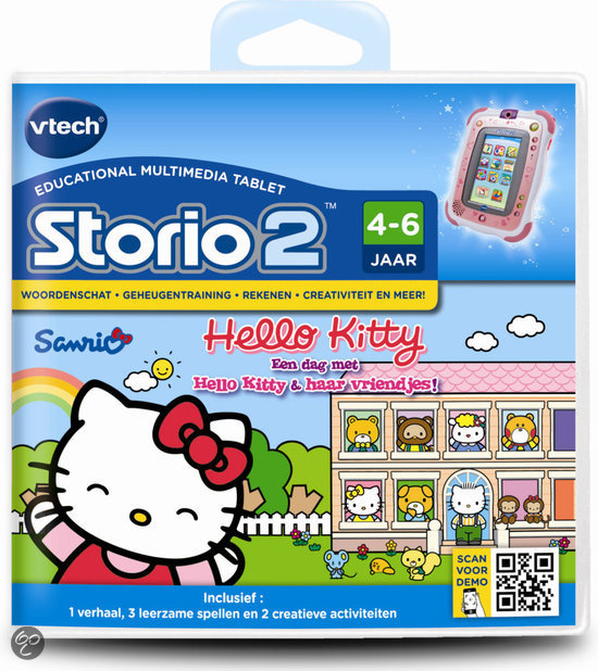 VTech Storio 2 Game - Hello Kitty
